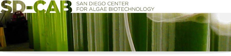 San Diego Center for Algae Biotechnology BLOG!
