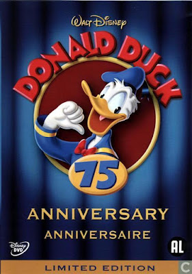Donald Duck 75th Anniversary 2009 DVD R2 PAL Spanish