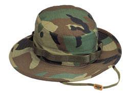 Camouflage Boonie Hats 100% Cotton Camo Boonie Hat