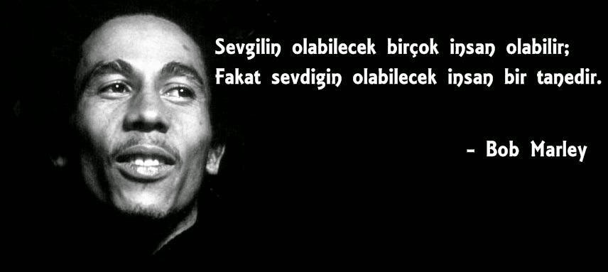 bob marley sözleri türkçe / kısa