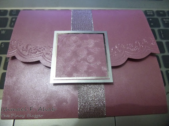Wedding invitation card from Divisoria