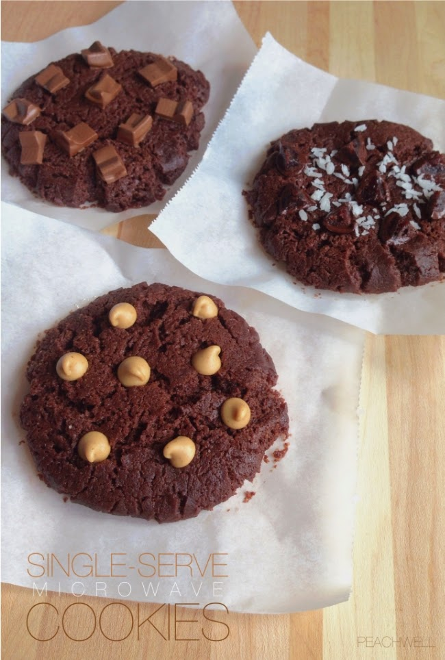 MICROWAVE CHOCOLATE COOKIES