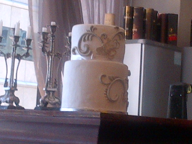 They specialise in the most decadent wedding cakes