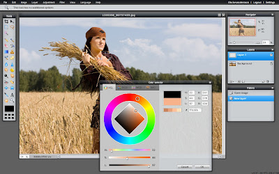 Online Photo Editing software