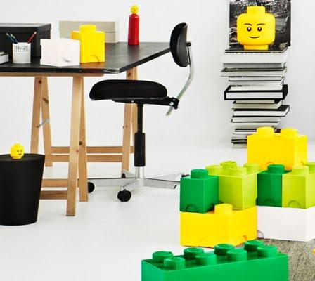 LEGO GEANT - boites de rangement