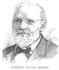 Joseph Alvin Beebe 1810-1891