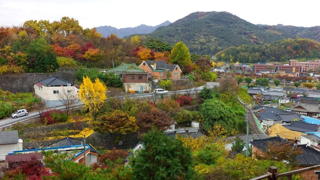 Kết quả hình ảnh cho Làng văn hóa Namsan Hanok