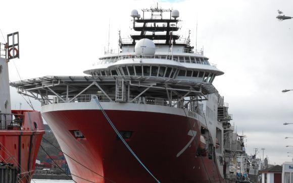 Tugboat Angkatan Laut Rusia