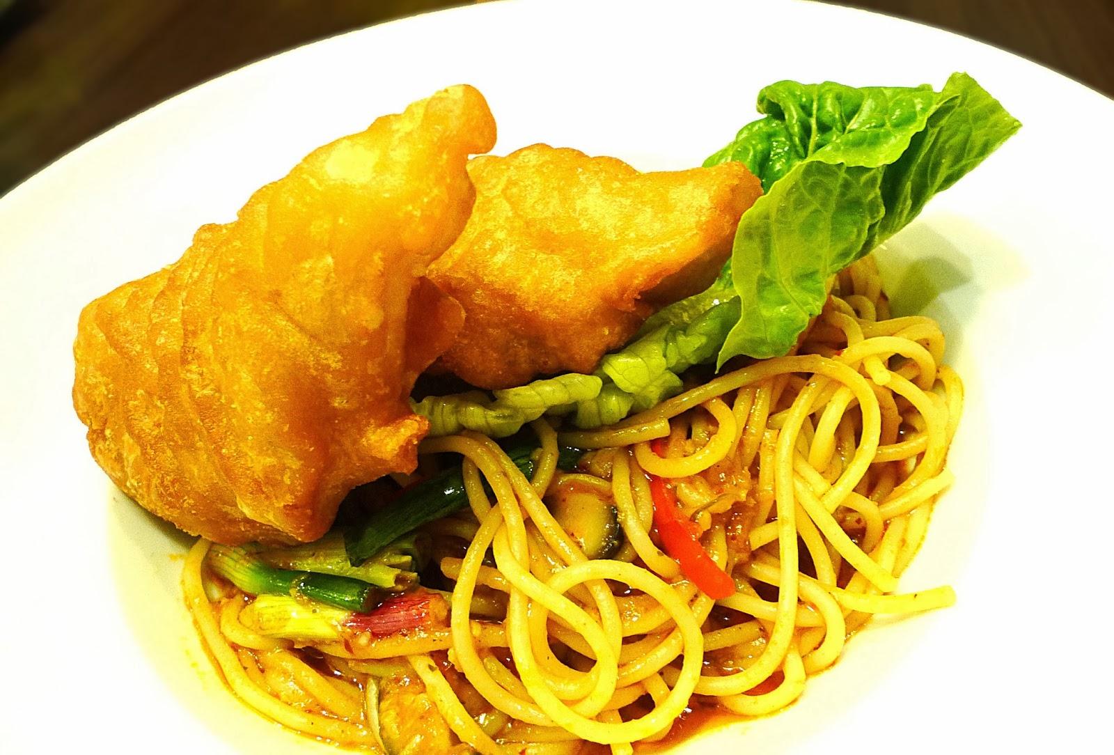 Chili fish pasta