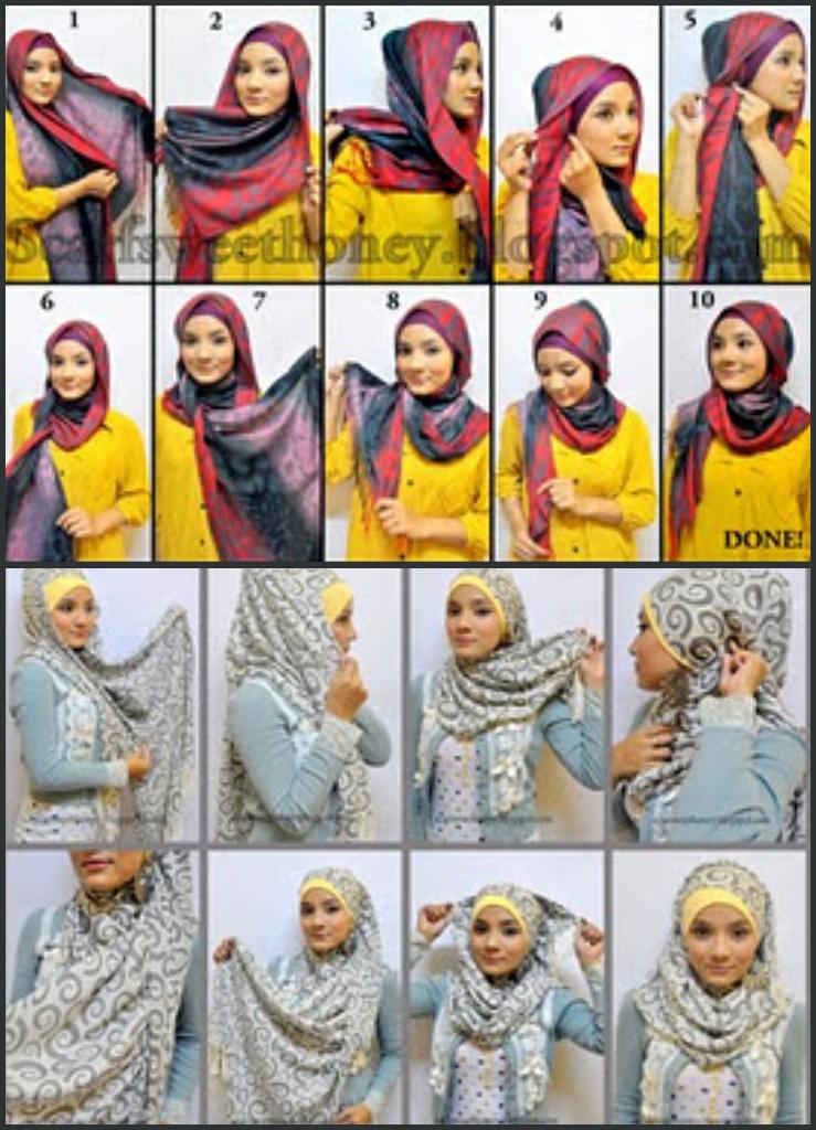 Reena's Online: Fesyen Tudung Terkini