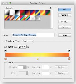 membuat gradient, photoshop, cs6, belajar photoshop, pemula,