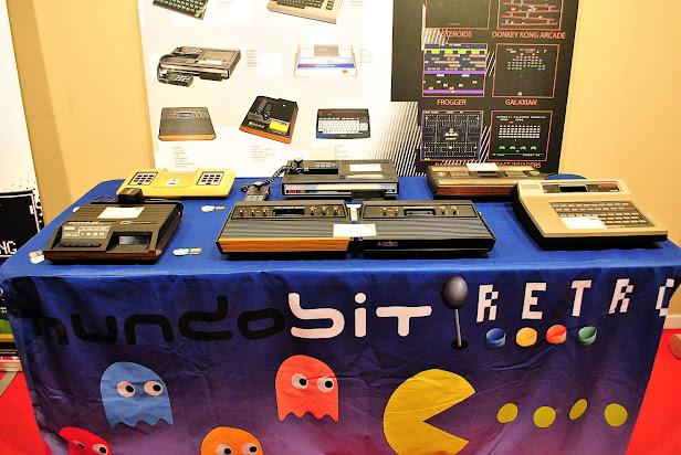 Exposición de Videojuegos Retro en el Metro Retiro de Madrid