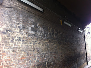 Ghost sign, London W10