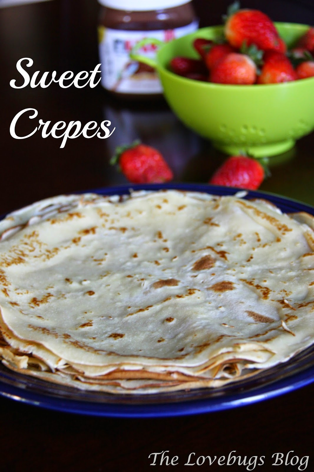 Sweet Crepe Recipe