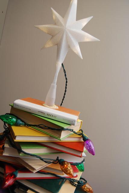 how to make a book light