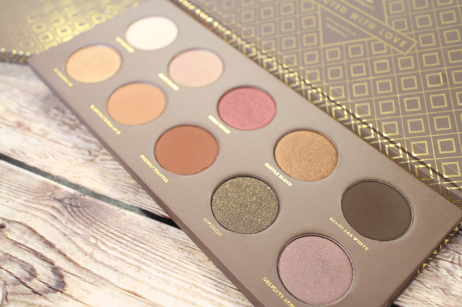 L.E.M Beauty Blog | Zoeva Cocoa Blend palette