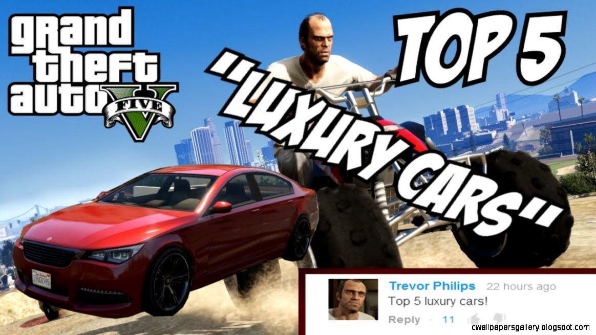 GTA 5   Top 5 Luxury Cars GTA V Luxury Cars   YouTube