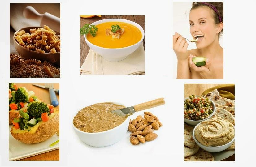 contoh makanan berserat tinggi