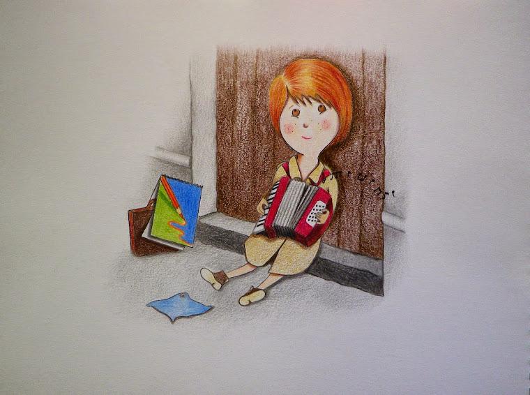 Os presento a Landa, una artista sin hogar.