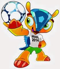 Mascot Piala Dunia FIFA 2014 di Brasil