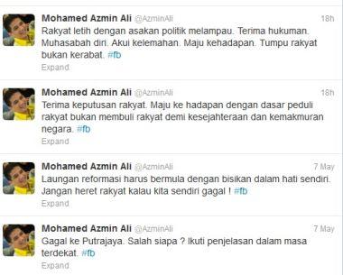 Azmin Ali Twitter