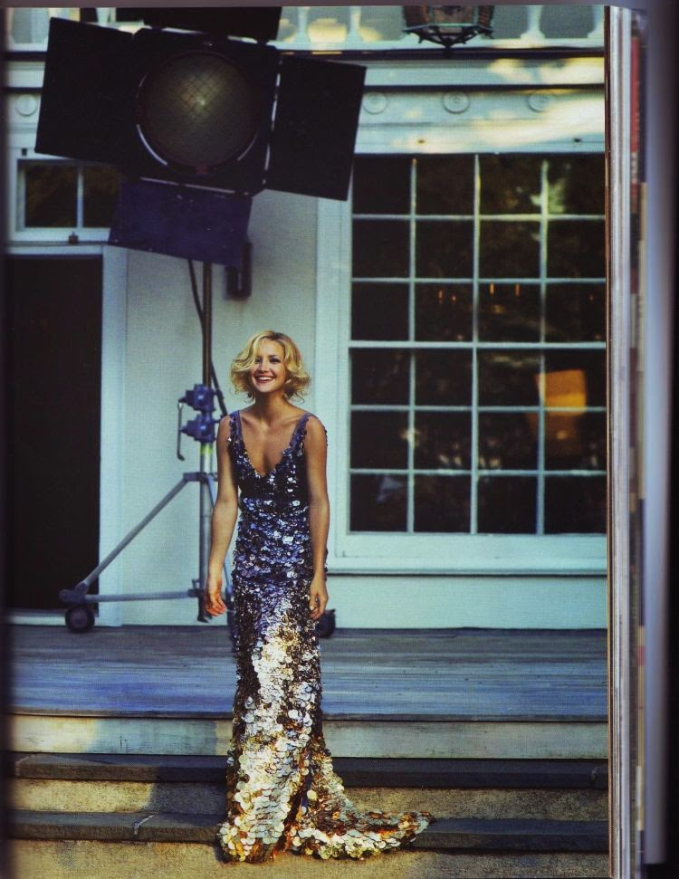Kate Hudson by Peter Lindbergh for Harper's Bazaar (September 2007) | Ses Rêveries