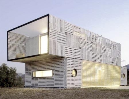 Casas contenedores casa manifesto construida con - Contenedores maritimos para vivienda ...