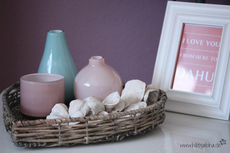 Hibbyaloha ein bisschen wohnzimmerdeko for Ikea deko vasen