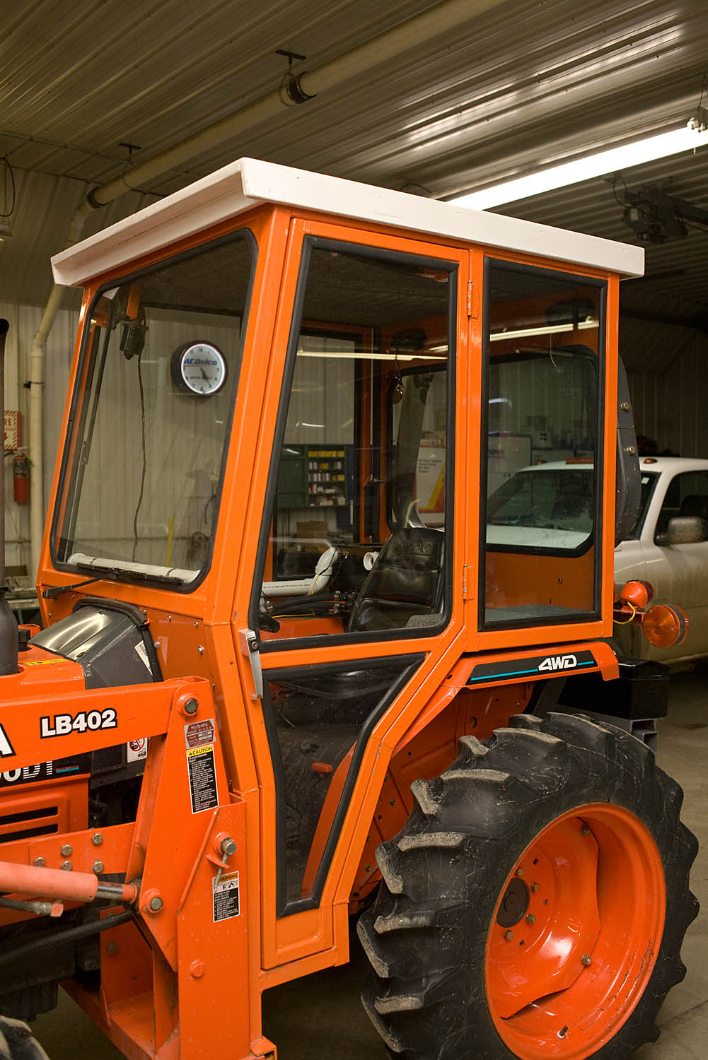having completed the second tractor cab for my 2003 kubota l3000dt the