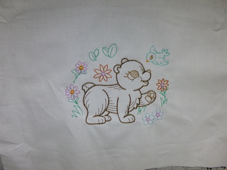embroidered bear