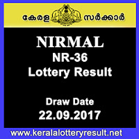 Nirmal Lottery Result NR-36