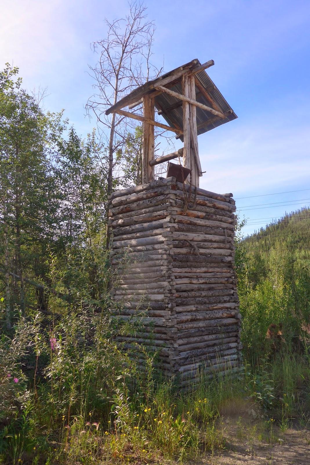 Old mine shaft.