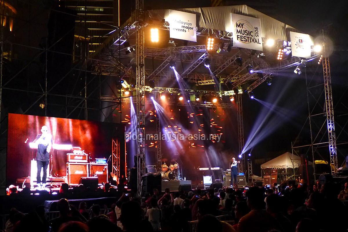 Joe Flizzow Live at My Music Festival 2015 Malaysia