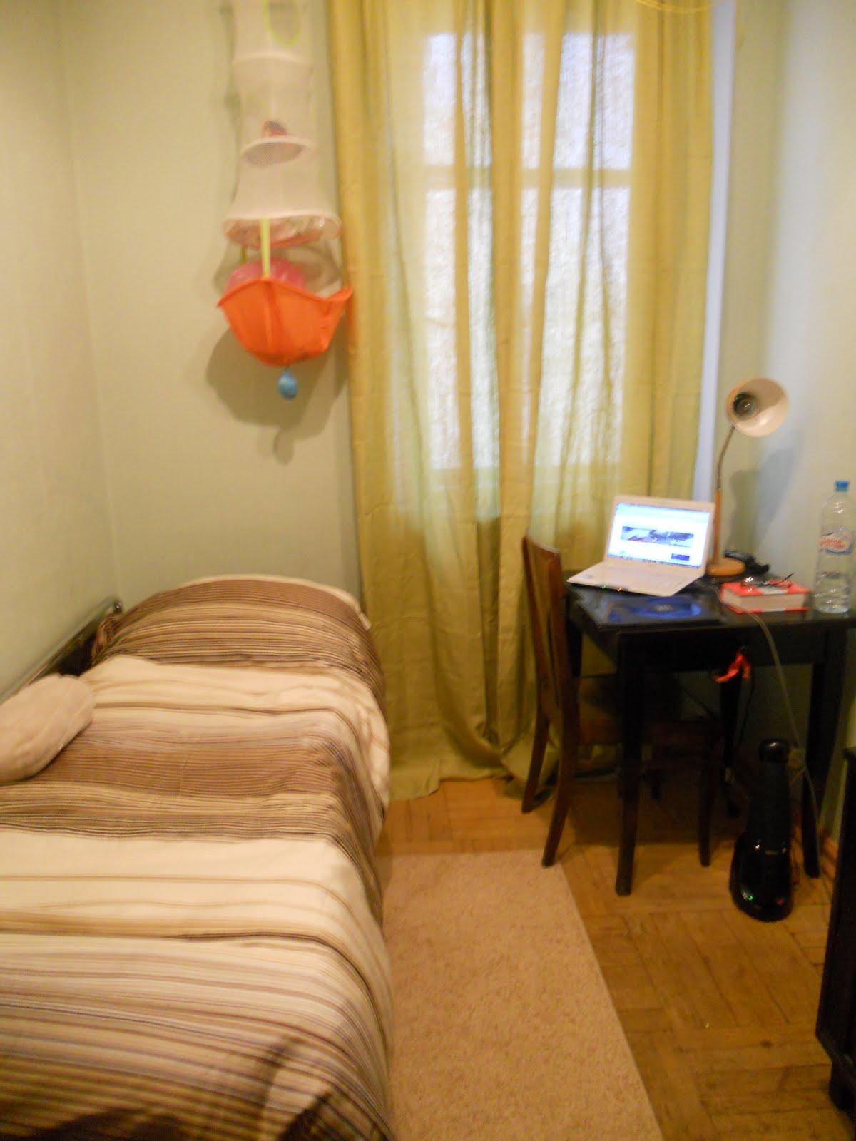 La vie d un étudiant  Moscou MSU Ma nouvelle chambre