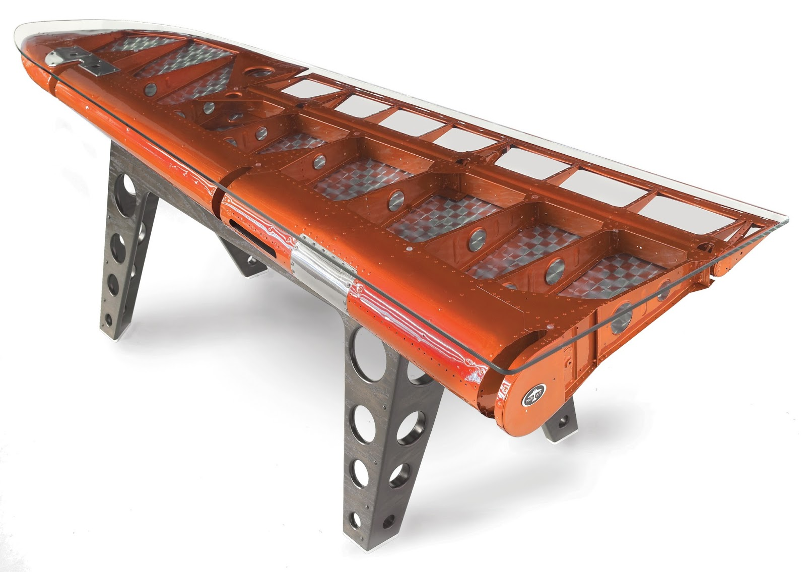 Airplane Wing Coffee Table Design Trend Aviation Inspired Furniture Luxaflex
