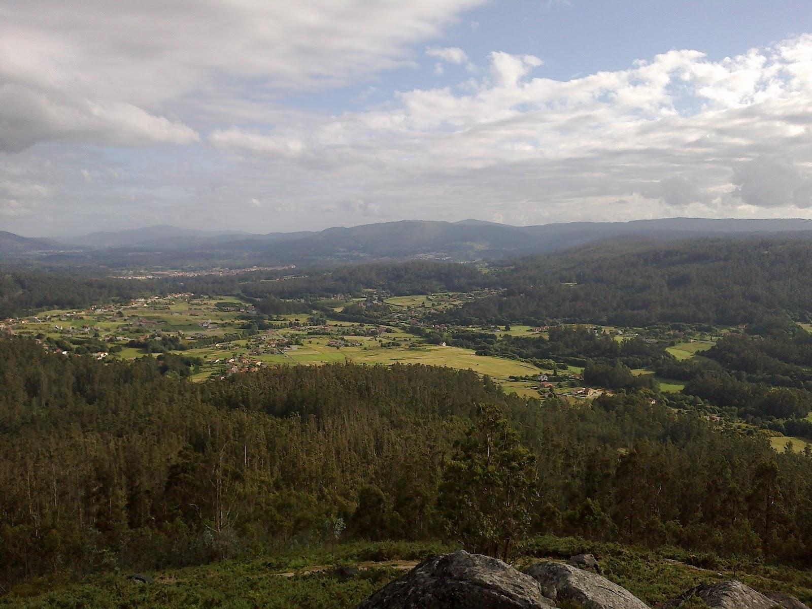 Vistas desde el monte de San Marcos