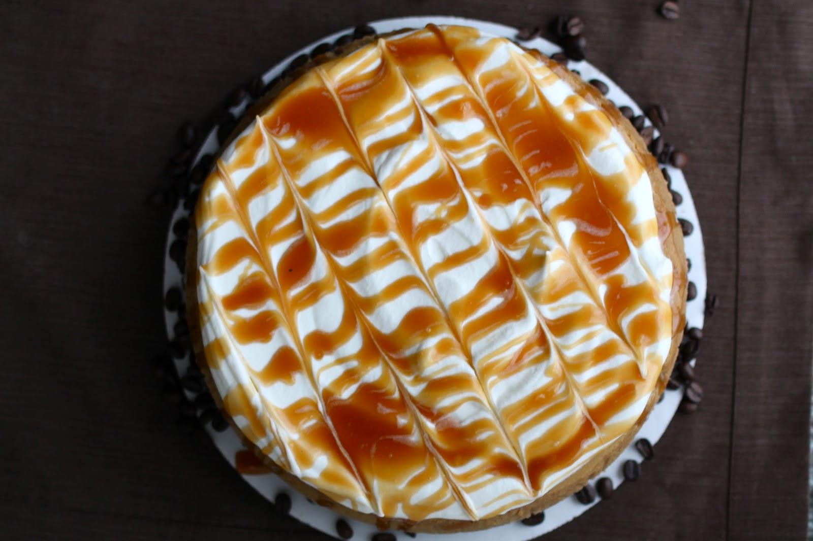 Yammie's Noshery: Caramel Cappuccino Cheesecake