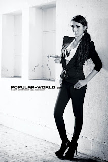 Kimmi for Popular World Magazine February 2013