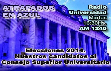 72. Elecciones 2014. Nuestros candidatos al CSU