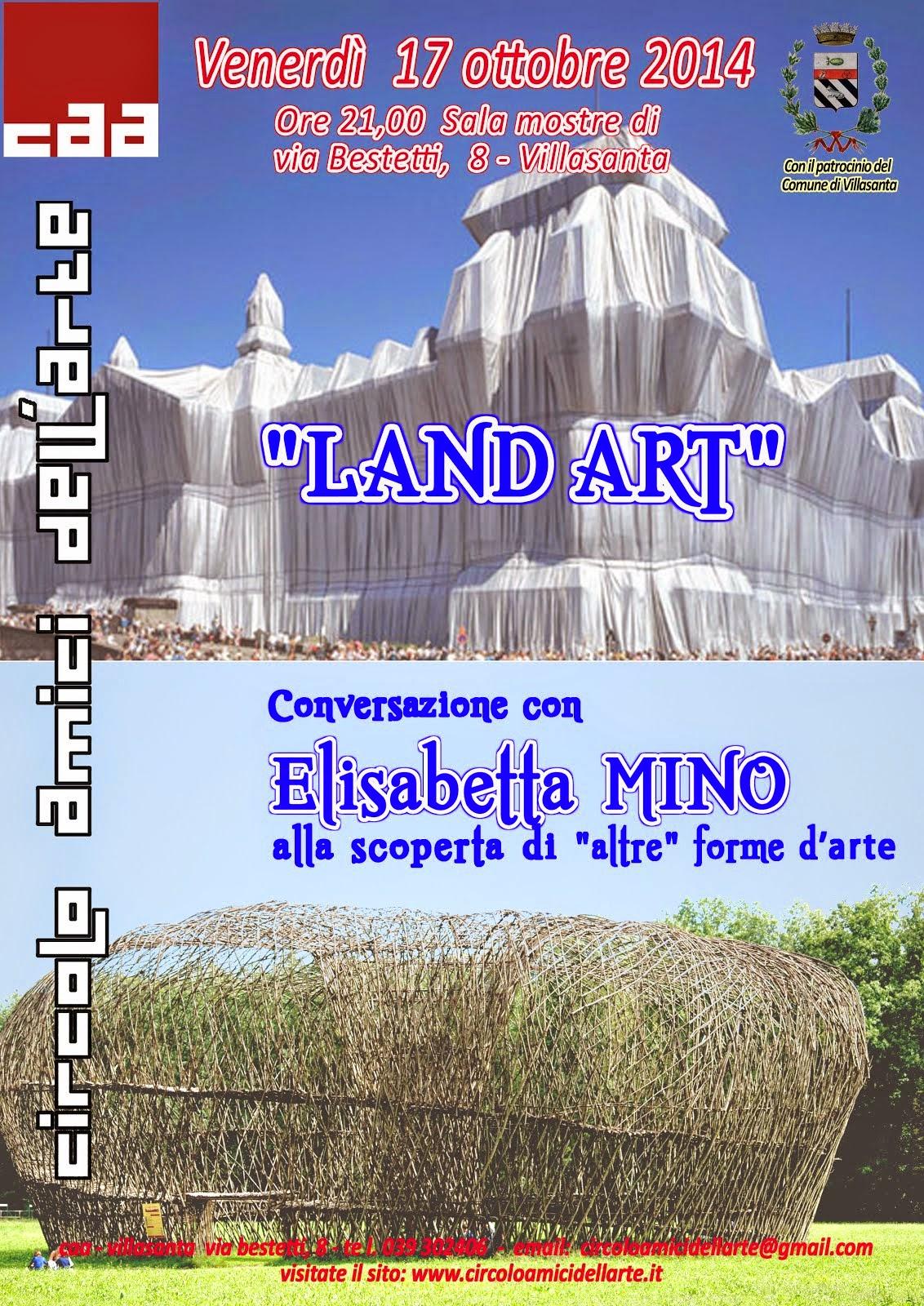 "Conferenza: ""Land Art"""
