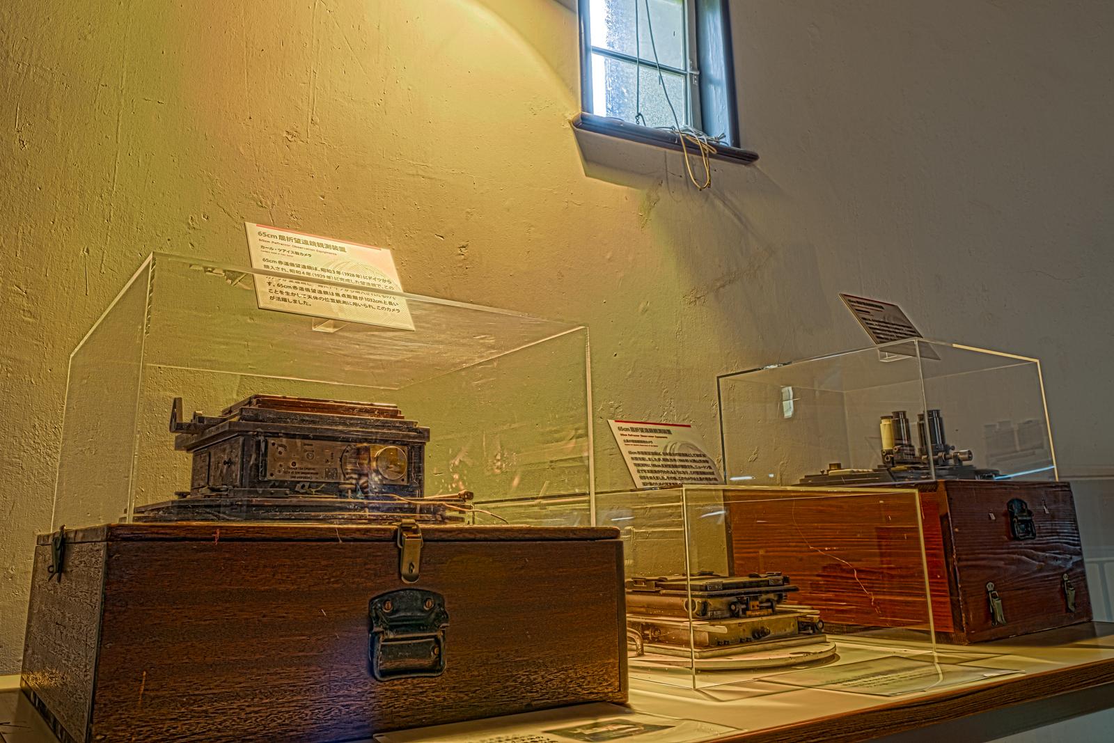 国立天文台、天文台歴史館内、展示品