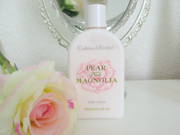Crabtree & Evelyn Pear and Pink Magnolia Bodylotion