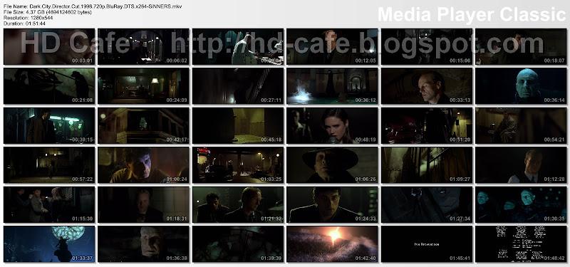 Dark City 1998 video thumbnails