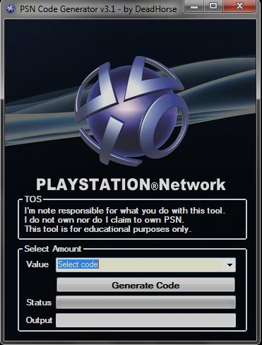 free psn code generator no surveys 100 free download