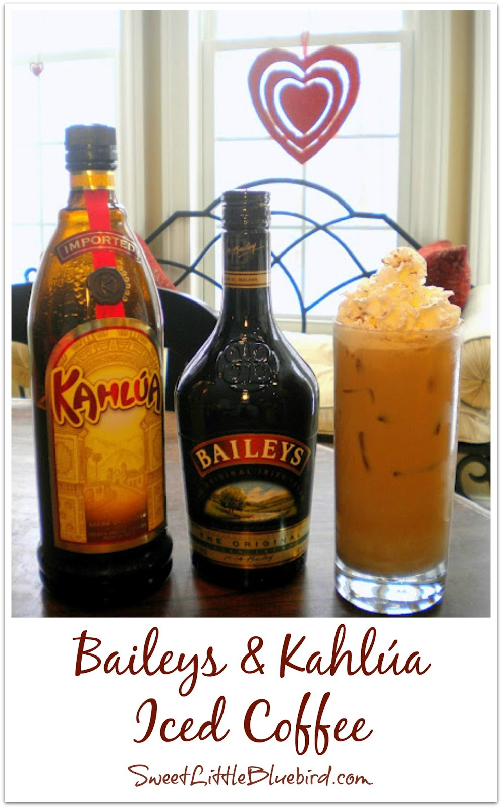 Baileys & Kahlúa Iced Coffee and Iced Mocha!