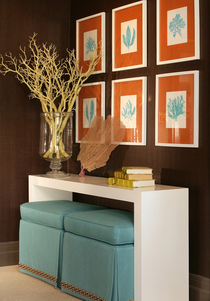 1000+ Images About Orange And Turquoise On Pinterest | Pillow
