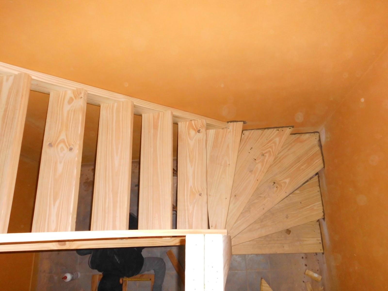 Entrepisos de madera escaleras escaleras - Escaleras antiguas de madera ...