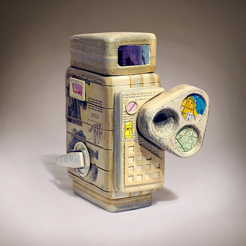 12-Electric-Eye-Ching-Ching-Cheng-Vintage-Camera-Sculptures-Made-of-Books-and-Maps-www-designstack-co