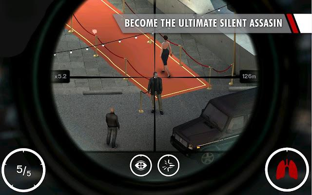 Hitman: Sniper v1.2.43823 Apk + Datos SD Mod [Dinero]
