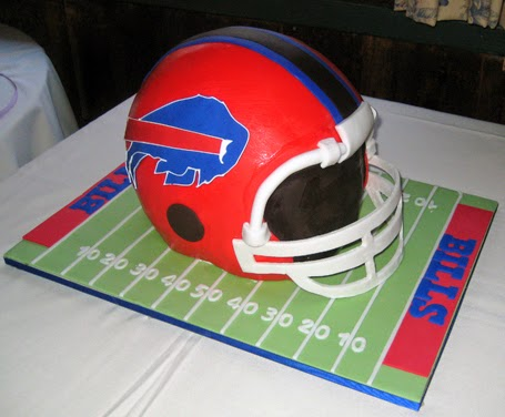 Buffalo Bills groom's cake